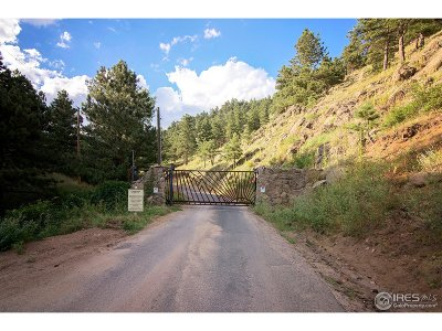 Boulder Residential Lots & Land For Sale: Cutter Ln