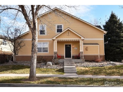 Fort Collins Condo/Townhouse For Sale: 5232 Cornerstone Dr