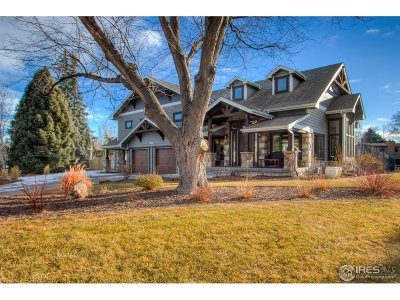 Fort Collins Single Family Home For Sale: 1421 Rollingwood Ln