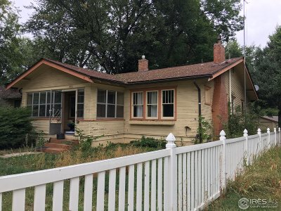 Fort Collins Single Family Home For Sale: 1516 W Oak St