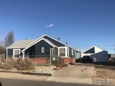 Keenesburg Single Family Home For Sale: 140 Elm St