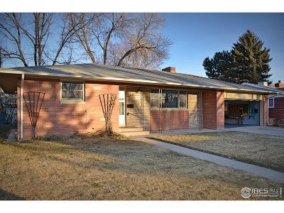 Longmont Single Family Home For Sale: 1842 Collyer St