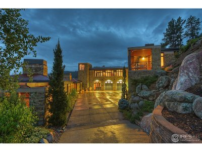 Boulder CO Single Family Home For Sale: $4,750,000