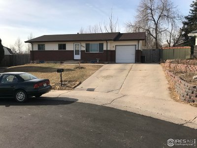 Greeley Single Family Home For Sale: 1907 33rd Ave