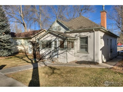 Fort Collins Single Family Home For Sale: 218 S Whitcomb St