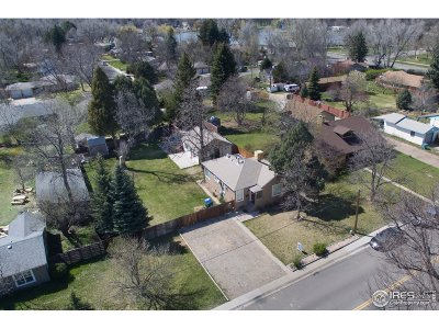 Fort Collins Single Family Home For Sale: 525 City Park Ave