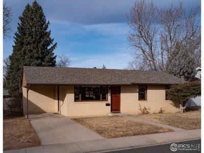 Longmont Single Family Home For Sale: 1327 Lincoln St