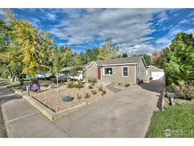 Fort Collins Single Family Home For Sale: 420 West St