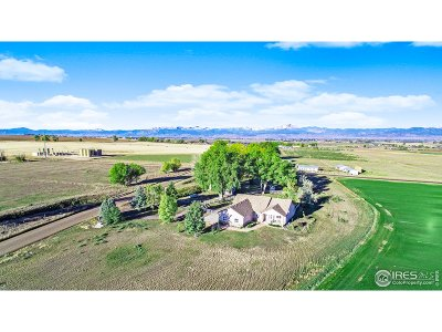 Weld County Single Family Home For Sale: 1081 County Road 38