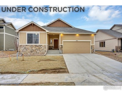 Weld County Single Family Home Active-Backup: 1321 88th Ave Ct