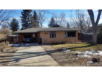 Boulder Single Family Home For Sale: 2840 21st St
