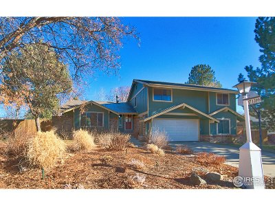 Longmont Single Family Home For Sale: 1209 Winslow Cir