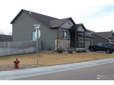 Weld County Single Family Home For Sale: 501 Planter Ln
