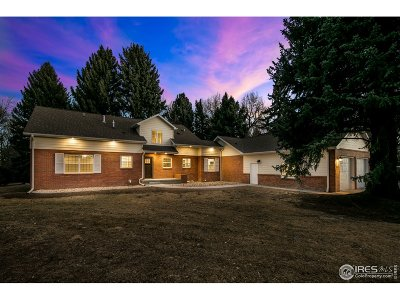 Greeley Single Family Home For Sale: 1834 Reservoir Rd