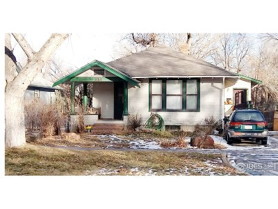 Longmont Single Family Home For Sale: 514 Gay St
