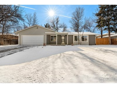 Fort Collins Single Family Home For Sale: 729 Oxford Ln