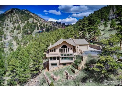 Boulder CO Single Family Home For Sale: $3,395,000