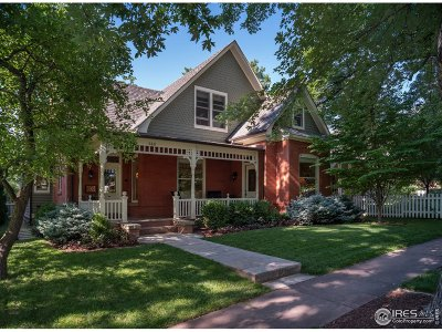 Boulder CO Single Family Home For Sale: $3,599,000
