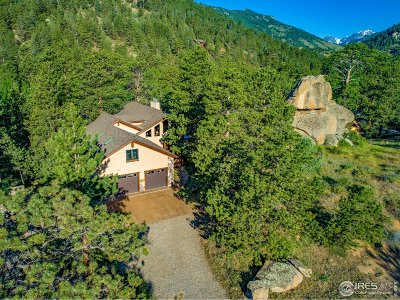Estes Park CO Single Family Home For Sale: $1,545,000