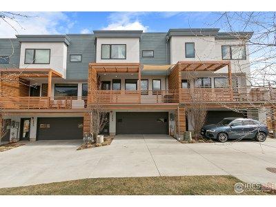 Boulder CO Condo/Townhouse For Sale: $1,195,000