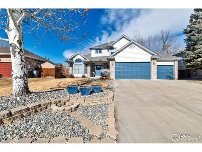 Longmont CO Single Family Home For Sale: $550,000