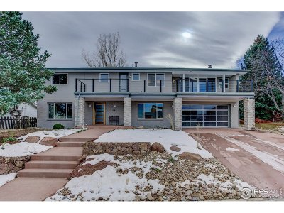 Boulder CO Single Family Home For Sale: $2,299,000