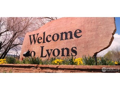 Lyons Residential Lots & Land For Sale: 355 McConnell Dr