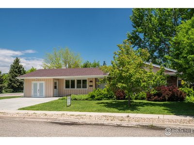 Boulder Single Family Home For Sale: 2611 Lloyd Cir