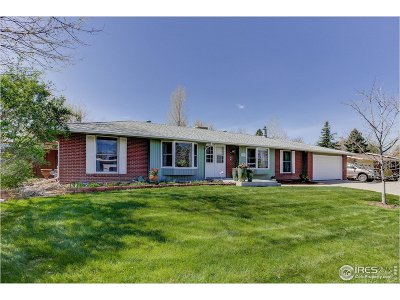 Longmont Single Family Home For Sale: 7170 Glacier View Rd