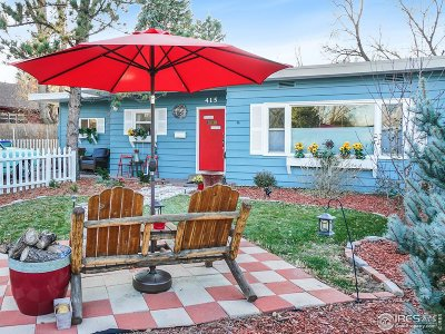 Fort Collins Single Family Home For Sale: 415 N Shields St