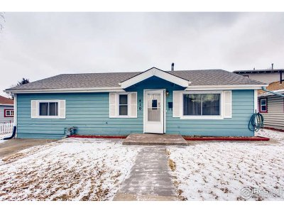 Fort Collins Single Family Home For Sale: 410 Pearl St