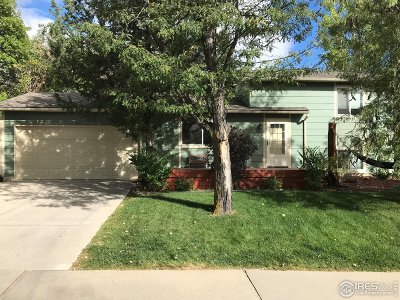 Boulder Single Family Home For Sale: 4544 Ashfield Dr