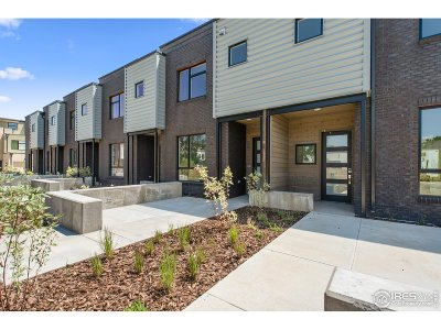Boulder Condo/Townhouse For Sale: 2791 32nd St