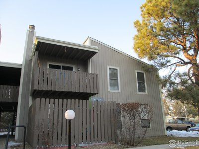 Niwot Condo/Townhouse For Sale: 8050 Niwot Rd #30