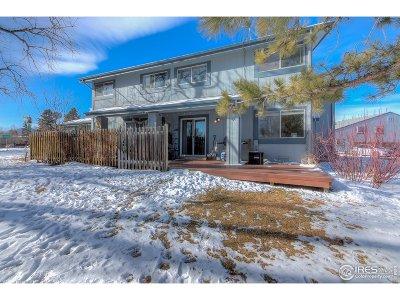Boulder Condo/Townhouse For Sale: 4330 Monroe Dr #C