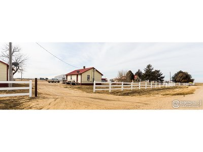 Keenesburg Single Family Home For Sale: 34496 County Road 18
