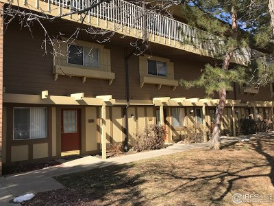Boulder Condo/Townhouse For Sale: 3363 Madison Ave #120