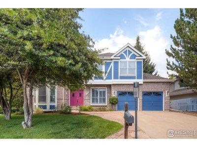 Boulder Single Family Home For Sale: 7454 Park Cir