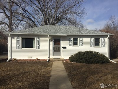 Longmont Single Family Home For Sale: 833 Lincoln St