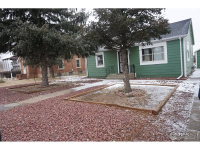 Greeley Single Family Home For Sale: 1525 5th St