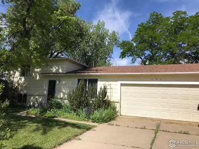 Boulder Single Family Home For Sale: 4507 Aberdeen Pl