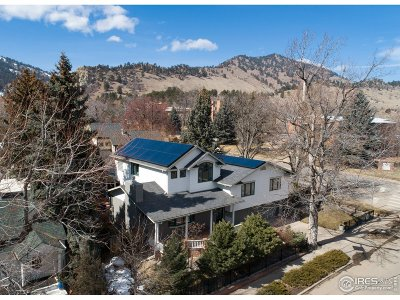 Boulder CO Single Family Home For Sale: $1,995,000