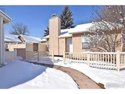 Fort Collins Single Family Home Active-Backup: 1980 Welch St #35