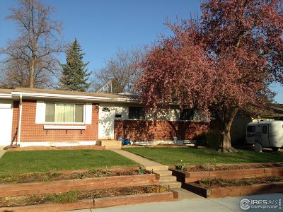 Boulder Single Family Home For Sale: 655 S 42nd St
