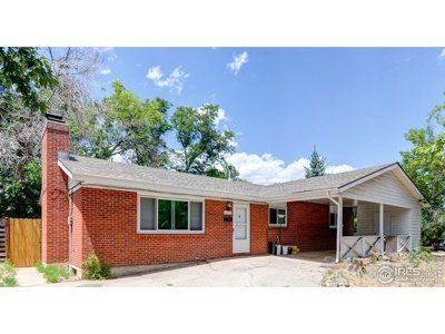 Boulder Single Family Home Active-Backup: 3895 Elmhurst Pl