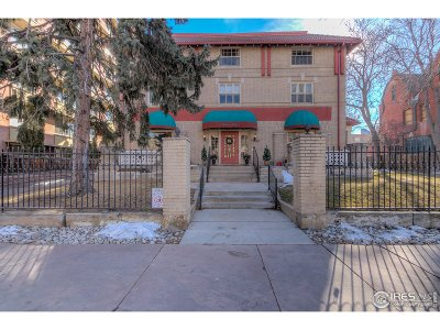Denver Condo/Townhouse For Sale: 1140 N Grant St #1
