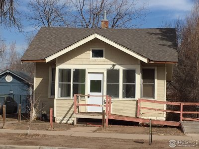 Greeley Single Family Home For Sale: 1493 10th St