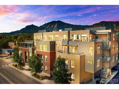 Boulder Condo/Townhouse For Sale: 1655 Walnut St #102