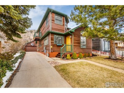 Boulder Single Family Home For Sale: 2909 4th St