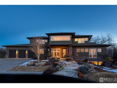 Niwot Single Family Home For Sale: 8536 Foxhaven Dr